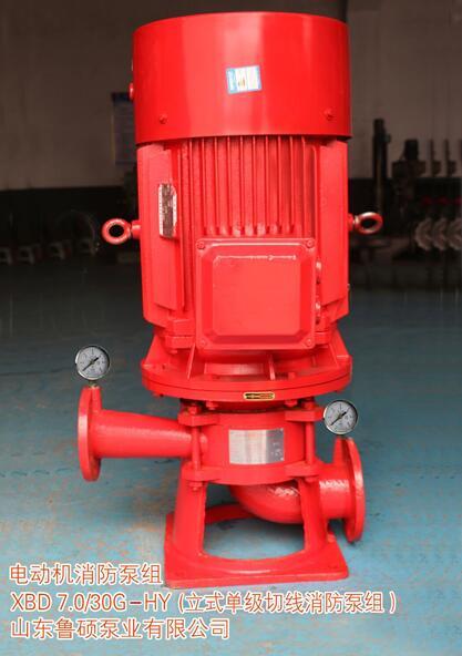 立式单级切线消防泵组